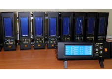 Temperature controller for hot channels injection-molding machine.