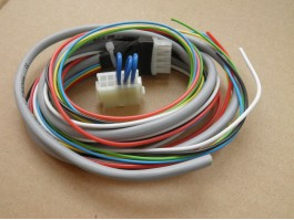 Wiring with a plug  3Dhall